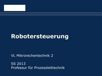 005-Folien: Aufgabe Zustandsautomat RobotHMI