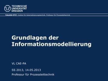 005 - Grundlagen der Informationsmodellierung
