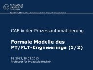 006 - Formale Modelle des PT/PLT-Engineerings (1/2)