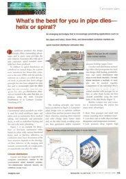 helix or spiral - ETA Kunststofftechnologie GmbH