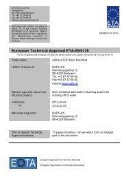 ETA 050128 DAFA Aquastop - ETA-Danmark