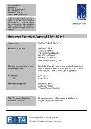 ETA110344 Bossong BCR Epoxy 21 - ETA-Danmark