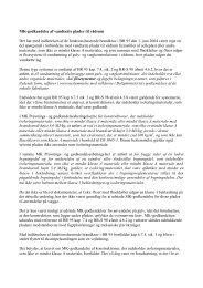 MK-godkendelse af vandtætte plader til vådrum Der ... - ETA-Danmark