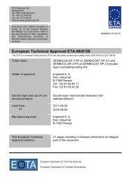 ETA 060158 IMPERBEL Double layer UK renew Final - ETA-Danmark