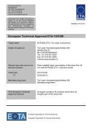 ETA130189 IM PURE ETA 1 Rebar - ETA-Danmark