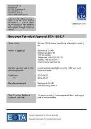 ETA130327 Bauhaus Probau 553 - ETA-Danmark