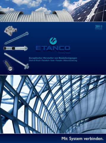 ETANCO Baubefestigungen Katalog 05-2011