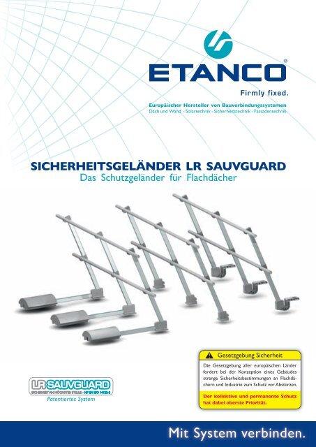 Schutzgeländer LR SAUVGUARD - Etanco