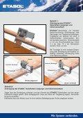 ETASOL® Solarhalter für Ziegeldächer - Etasol-solar-zubehoer.de - Page 2