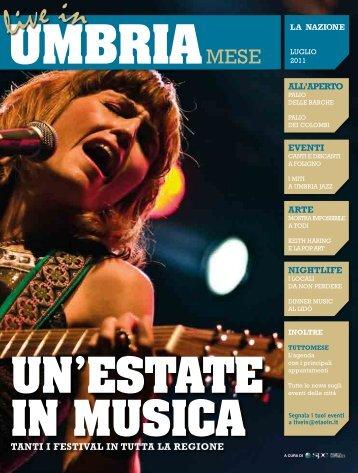 Live In Umbria Mese, luglio 2011 - Etaoin