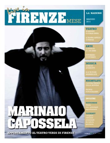 Live In Firenze Mese, maggio 2011 - Etaoin