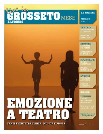 Live In Livorno e Grosseto Mese, febbraio 2011 - Etaoin