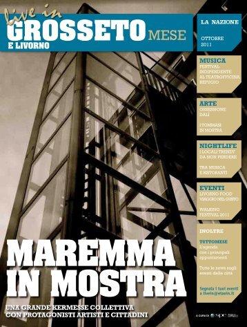 Live In Grosseto e Livorno Mese, settembre 2011 - Etaoin