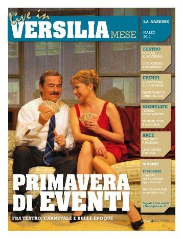 Live In Versilia Mese, marzo 2011 - Etaoin