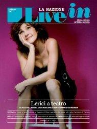 Live In Massa Carrara, Spezia e Sarzana Mese, febbraio 2013 - Etaoin