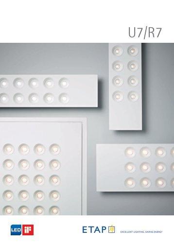 Brochura U7-R7 (PDF) - ETAP Lighting