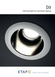 022000-leaflet D9 LED Downlight.indd - ETAP Lighting