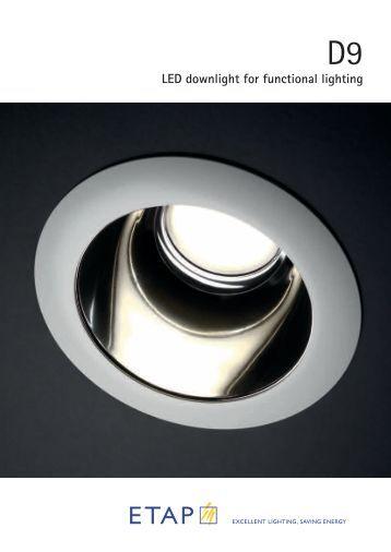 022000-leaflet D9 LED Downlight.indd - ETAP Lighting
