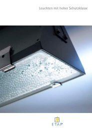 Broschüre Leuchten mit hoher Schutzklasse - ETAP Lighting
