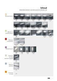 """Download hier """"nieuwe producten 2009 – Verlichting"""" - ETAP Lighting"""