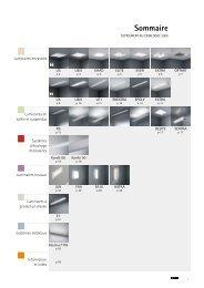 nouveaux produits 2009 – Éclairage - ETAP Lighting