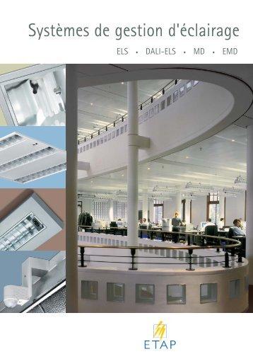 Systèmes de gestion d'éclairage - ETAP Lighting