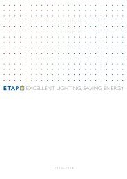 ETAP Catalogue 2013-2014 − (23 Mb) - ETAP Lighting