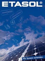 etasol katalog 2013 neu! - Etasol-solar-zubehoer.de