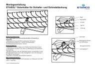 ETASOL Solardachhaken fuer Schiefer-Dachdeckung