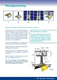 Montageanleitung Universal Modulklemme - Etasol-solar-zubehoer.de