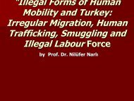 """Illegal Forms of Human Mobility and Turkey: Irregular ... - HUMSEC"