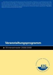 Veranstaltungsprogramm - ETC Graz