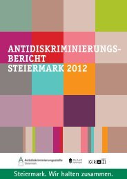 Antidiskriminierungsbericht Steiermark 2012 - ETC Graz