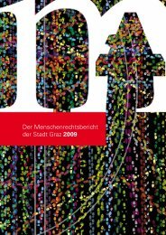 Der Menschenrechtsbericht der Stadt Graz 2009 - ETC Graz