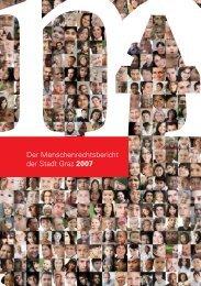Der Menschenrechtsbericht der Stadt Graz 2007 - ETC Graz