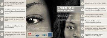 30 PunKte für die Menschenwürde - ETC Graz
