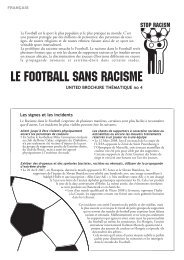 Le football contre le racisme - ETC Graz