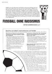 Rassismus im Fußball: Ausdrucksformen und Vorfälle - ETC Graz