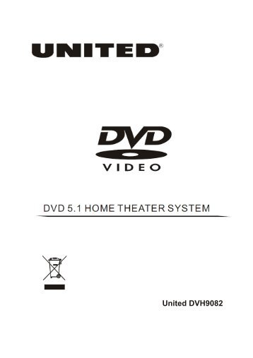 United DVH9082 - ETC Shop