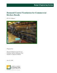 Demand Control Ventilation for Commercial Kitchen Hoods