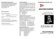 Drachen Humpen 2009 - ASC