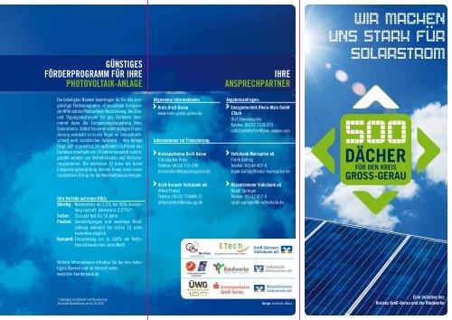 wir machen uns stark für solarstrom - EnergieTechnik Rhein-Main ...