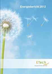 ETech Energiebericht 2012 - Überlandwerk Groß Gerau