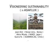 Visioneering Sustainability - Etech-Center for Applied Environmental ...