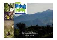 Hydro Intag – A case of green project finance in Ecuador