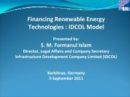 Financing Renewable Energies - Etech-Center for Applied ...
