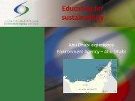 Educating for Sustainability – Abu Dhabi Experience » | Fozeya Al ...