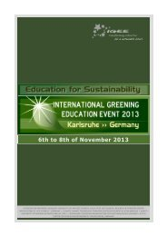 6th to 8th of November 2013 - Etech-Center for Applied ...