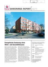 SANIERUNGS-REPORT 02/11 - Eternit AG