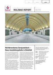HOLZBAU-REPORT 01/11